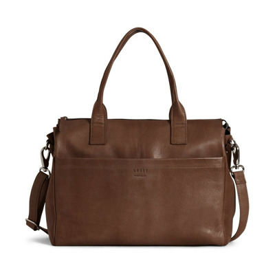 Anouk Brief computer bag in leather Still Nordic