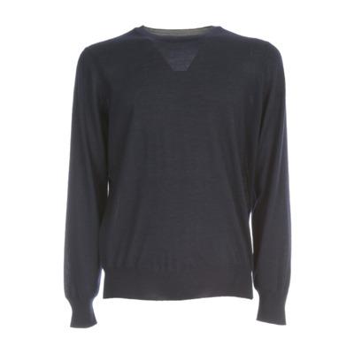 Cashmere Silk CEW Neck Sweater Brunello Cucinelli