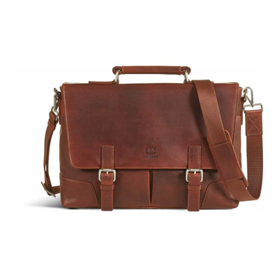 Leather Briefcase BAG James Howard London