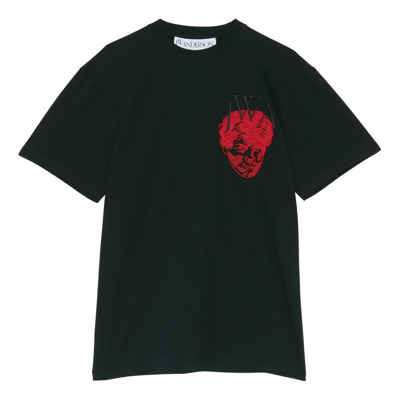 Embroidered Face T-Shirt JW Anderson
