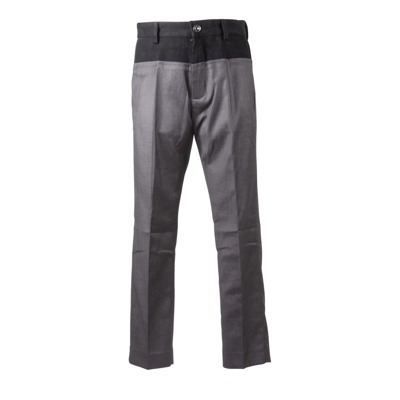 Overlapping effect pants N21
