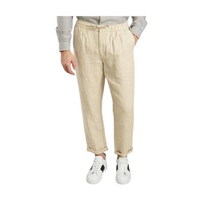 Birch Linen Trousers Knowledge Cotton Apparel