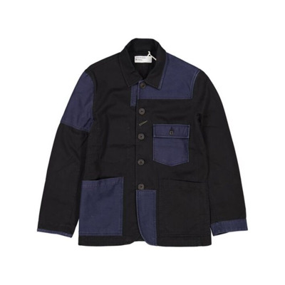 Patched Mill Bakers Jacket Twill Universal Works