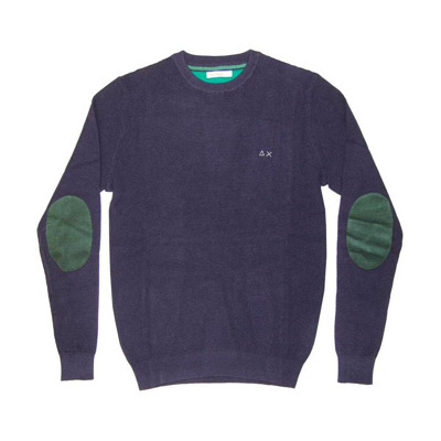 Sweater with patches Sun 68