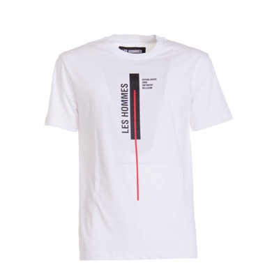 T-shirt with logo Les Hommes