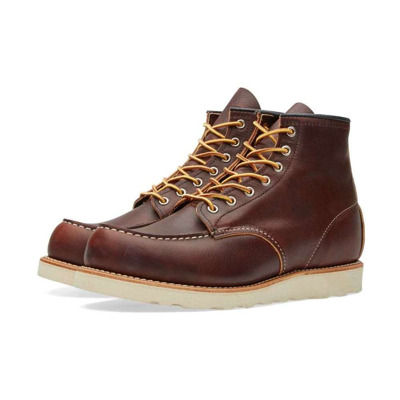 Heritage Work  Moc Toe Boot Briar Red Wing Shoes