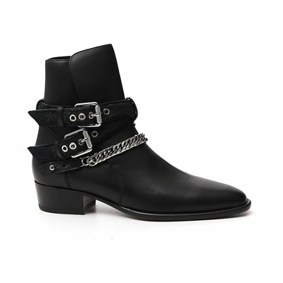Boots with chain detail Amiri