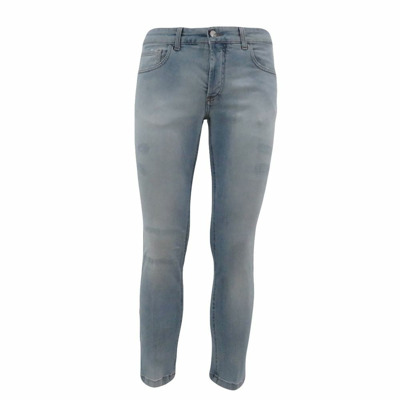 -pocket light jeans with abrasions Entre amis