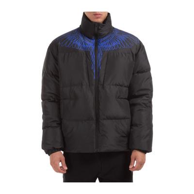 men's outerwear jacket blouson Pictorial wings Marcelo Burlon