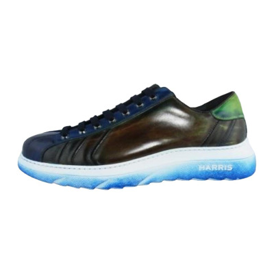 Lace-Up Sport Calf Worked Rubber Sole Harris Shoes