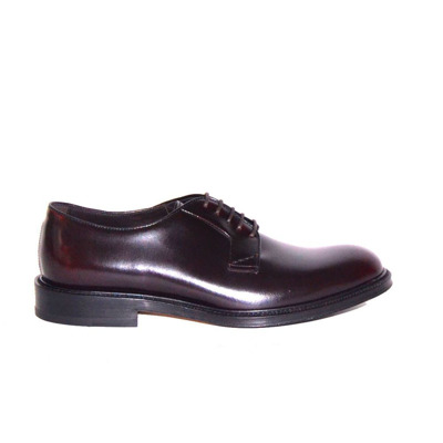 Brushed lace-up derbies Migliore