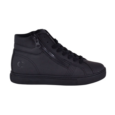 Child high sneakers with side zip Crime London