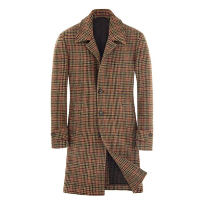 old style checked coat L.b.m. 1911
