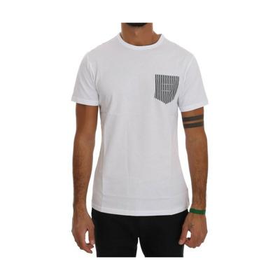 Cotton Crewneck T-Shirt Daniele Alessandrini