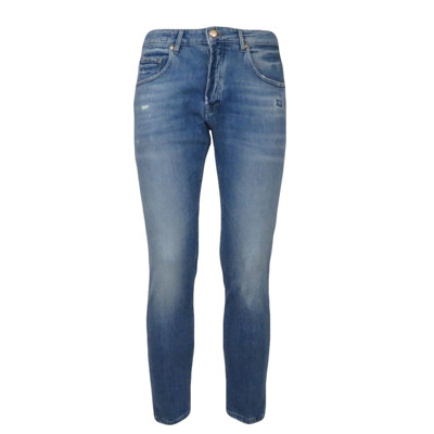 jeans with abrasions Don The Fuller