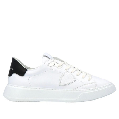 Temple Sneakers In Leather Philippe Model