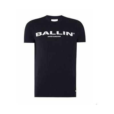t-shirt Ballin Amsterdamblauw Ballin Amsterdam