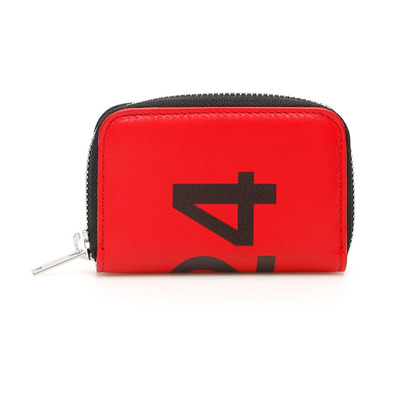 Card holder pouch with logo 424