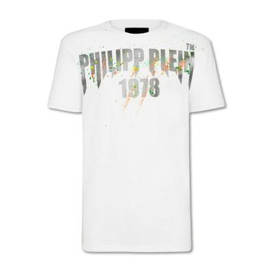 Beschilderde T-shirt Philipp Plein