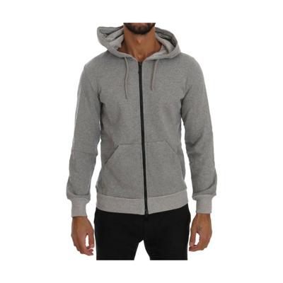 Full Zipper Hodded Cotton Sweater Daniele Alessandrini
