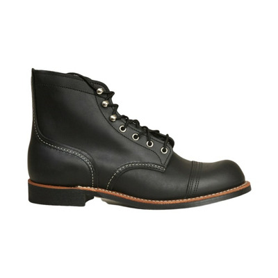 Iron Ranger Black Harness Boots Red Wing Shoes