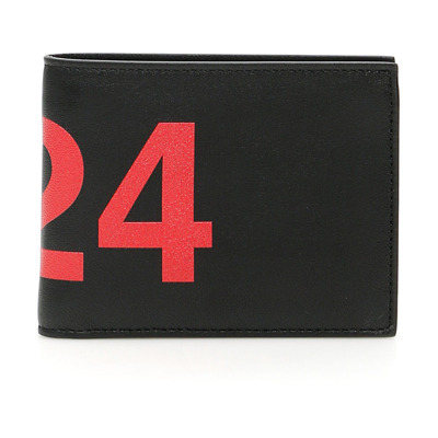 Bifold wallet with logo 424