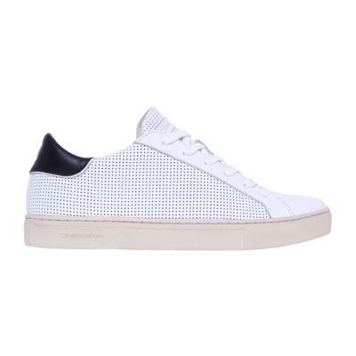 Perforated leather sneaker Crime London