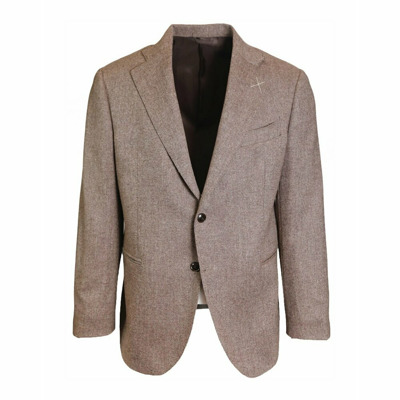Single-breasted wool jacket J.w.sax Milano