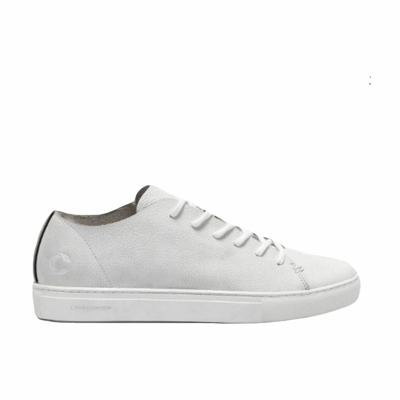 Low sneakers in textured leather Crime London