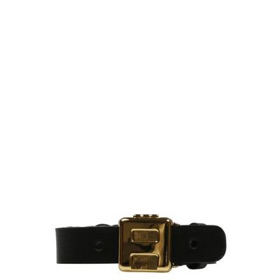 Logo Leather Bracelet Ambush