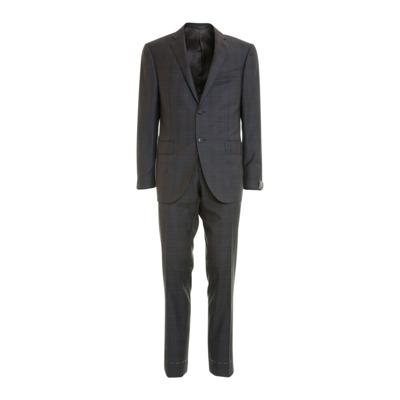 Checkered Suit Corneliani