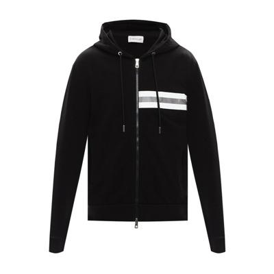 branded hoodie Moncler