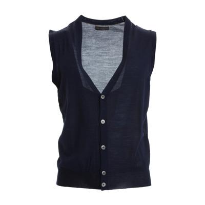Blue Vest Corneliani