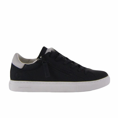 Low sneakers with double zip Crime London