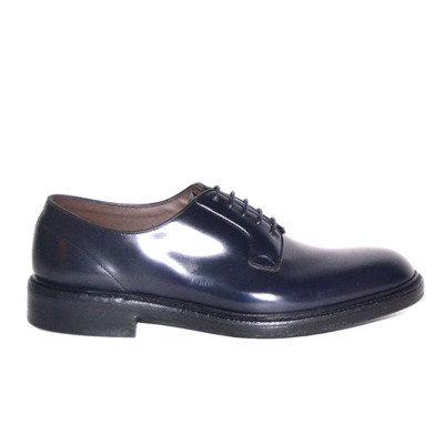 lace-up derby with non-slip sole Green George