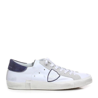 Paris sneakers in leather and suede Philippe Model