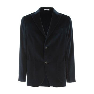 Cotton Velvet Jacket Boglioli