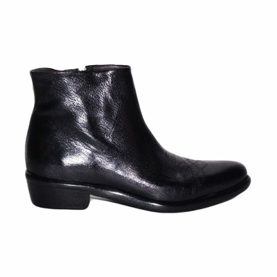 Texan ankle boots with embroidered toe J.p. David