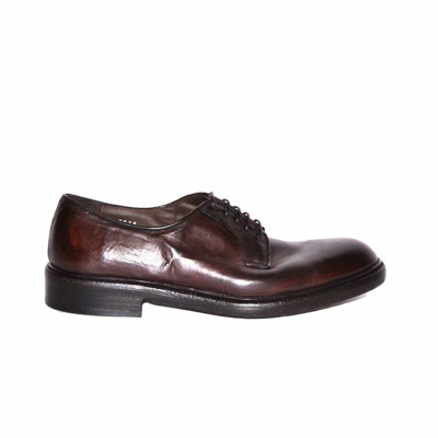 lace-up derbies Green George