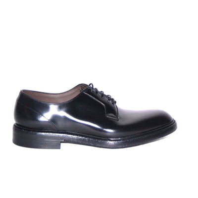 derby lace-up shoes with non-slip sole Green George