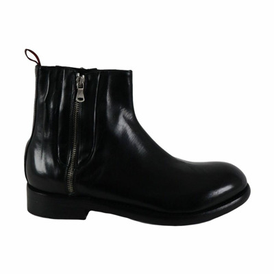 men's ankle boots with double zip fw  J.p. David
