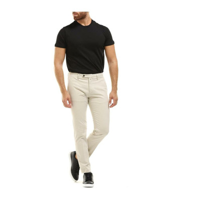 Slim FIT Cotton Satin Pants Briglia