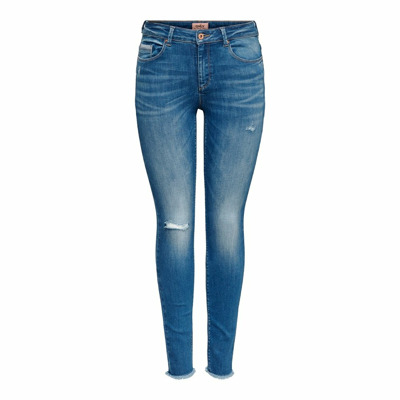 Image of Skinny jeans ONLFHush mid raw ankle life