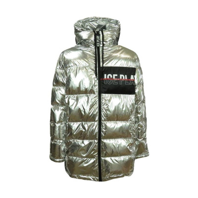 long quilted man quilted jacket ICE Play