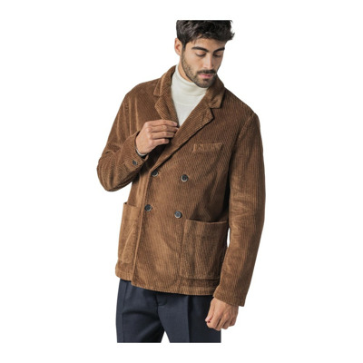 Over Double-Breasted Jacket With Wide Ribs Barena Venezia