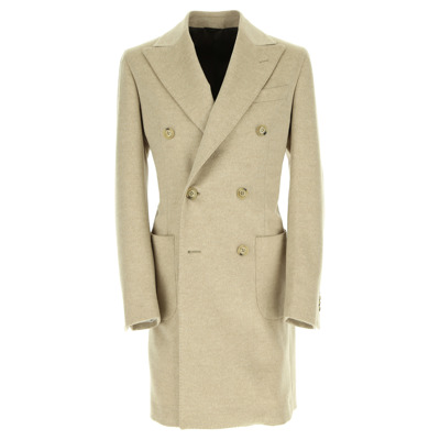 spear-breasted double-breasted coat Lubiam
