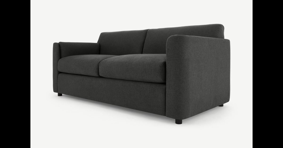 Baen Schlafsofa, Sterlinggrau - MADE.com