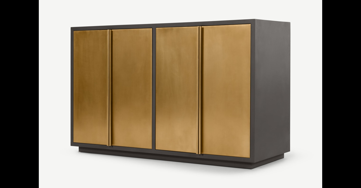 Markle Sideboard, Messing - MADE.com