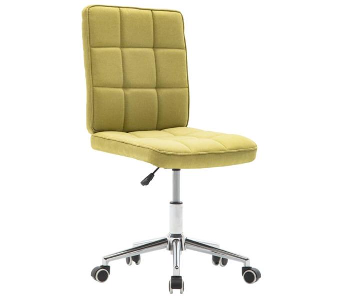 kárpitozott puha zöld szék
