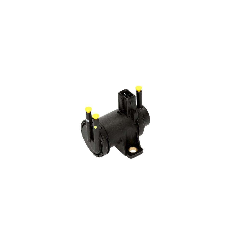 Drukconvertor, uitlaatgasregeling | VEMO, Zwart, 2-polig, 12 V